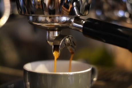 Close up Coffee Machine