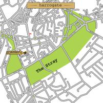 Slingsby's Harrogate Map